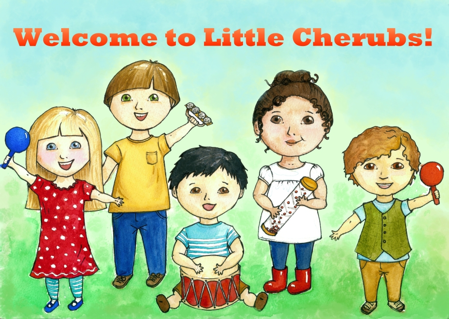 Little Cherubs Banner 2 for Powerpoint
