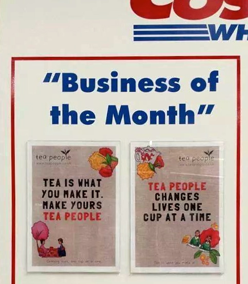 Tea People Business of the Month