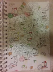 tea people sketch