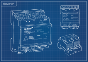 Transceiver-standard-blueprint-sketch
